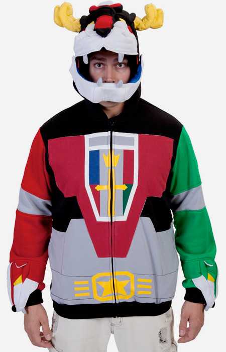 Voltron Inspired Hoodie
