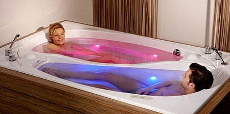 Yin Yang Bathtub