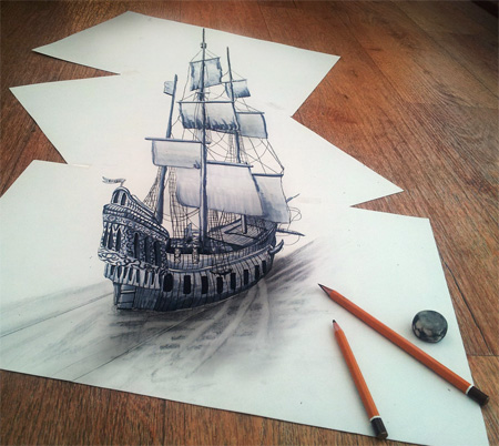 Powerful Art: 3D Drawings!!! photo 6