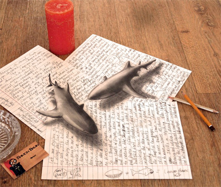 Powerful Art: 3D Drawings!!! photo 5