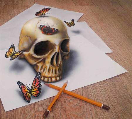 Powerful Art: 3D Drawings!!! photo 3