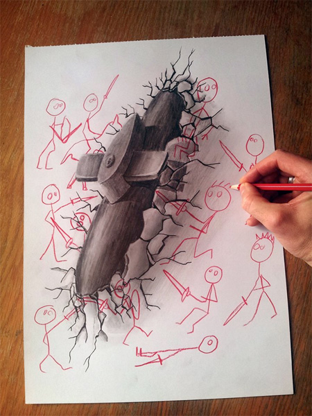 Powerful Art: 3D Drawings!!! photo 2