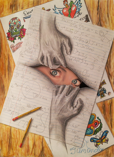 Powerful Art: 3D Drawings!!! photo 1
