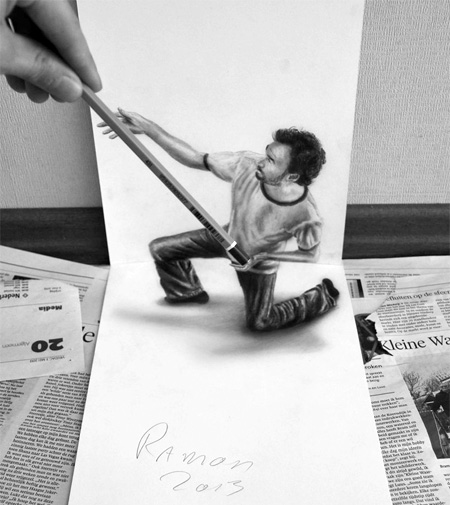 Artist Ramon Bruin