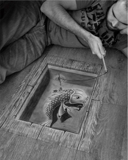 Powerful Art: 3D Drawings!!! photo 7