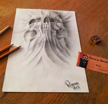 Pencil Drawings by Ramon Bruin