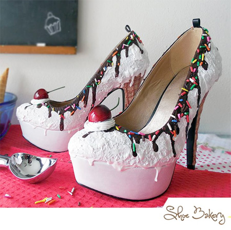 Ice Cream Sundae Shoes