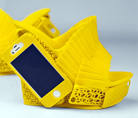 3D Printed iPhone Shoes
