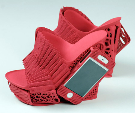 iPhone Holder Shoes