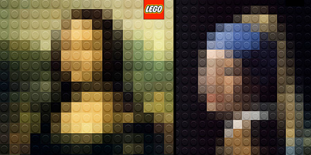 LEGO Paintings