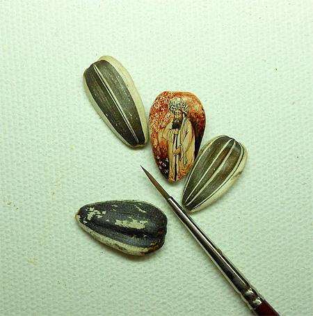 Miniature Art by Hasan Kale