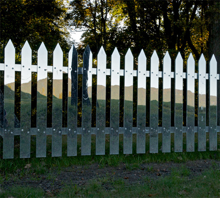 Fence Made of Mirrors