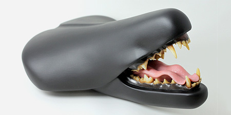 Scary Bicycle Seat