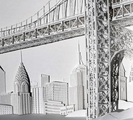 3D Paper Buildings