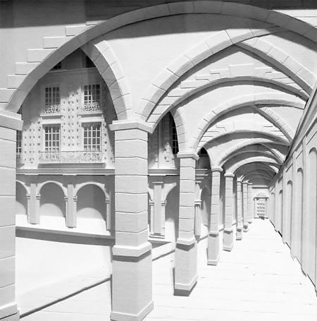3D Paper Building