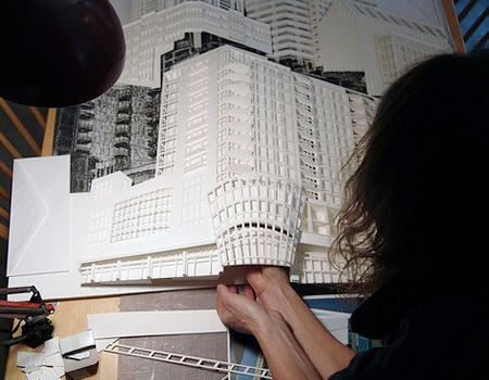 Architecture Made of Paper