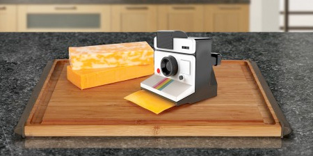 Polaroid Cheese Slicer