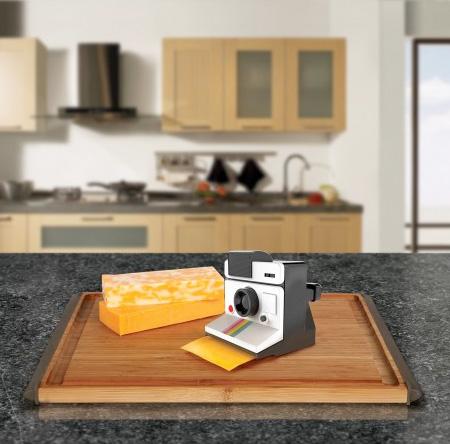 Polaroid Camera Cheese Slicer