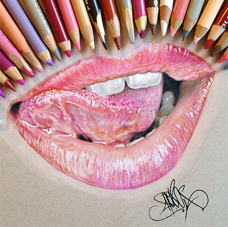Colored Pencil Drawing