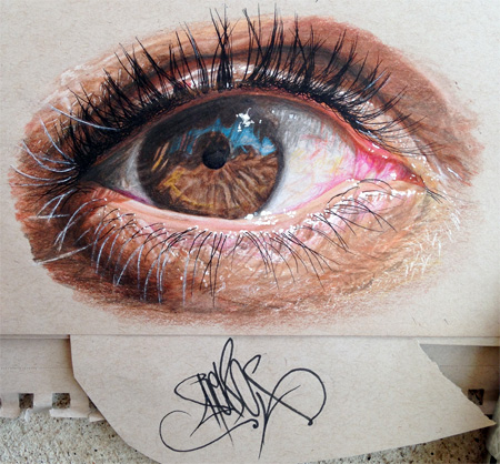 Realistic Pencil Drawings by Redosking