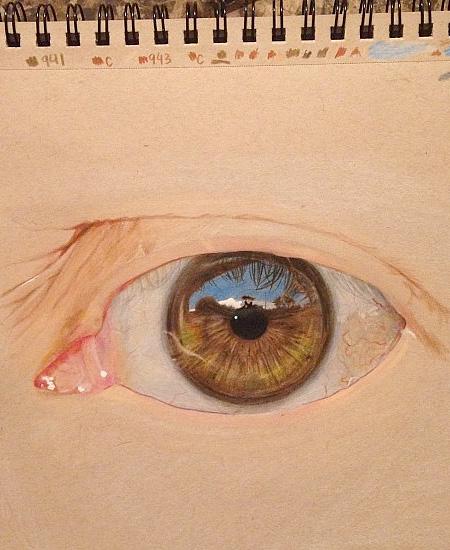 Realistic Eye Drawings