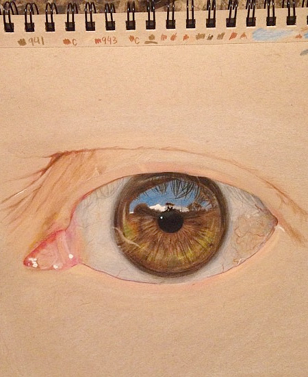 Realistas Dibujos Eye