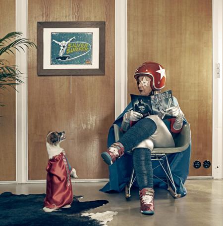 Super Grandmother by Sacha Goldberger