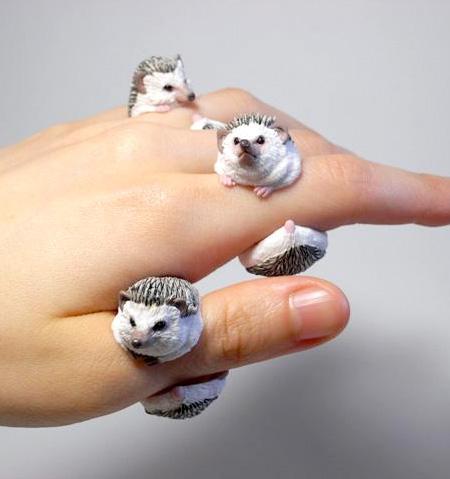 انگشترهای چشم نوازی که شبیه حیوانات