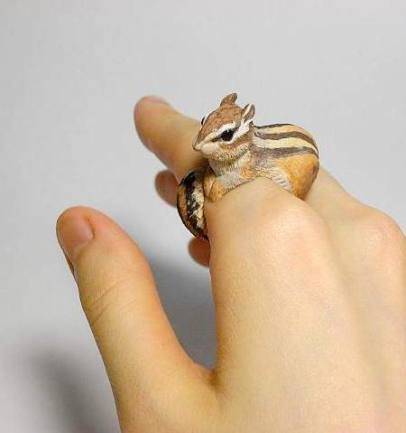 Chipmunk Ring