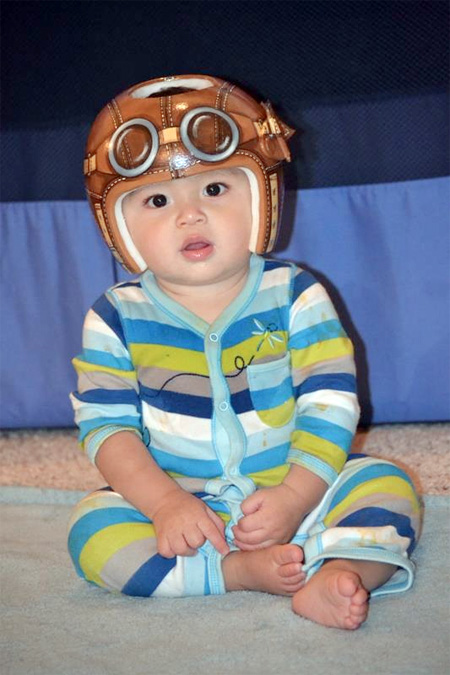Creative Baby Helmet