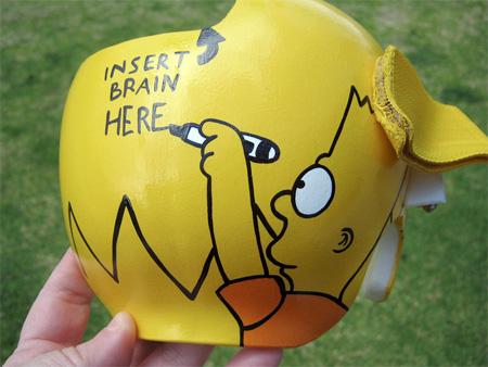 Baby Helmet Art
