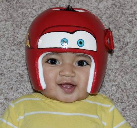 Art on Helmet