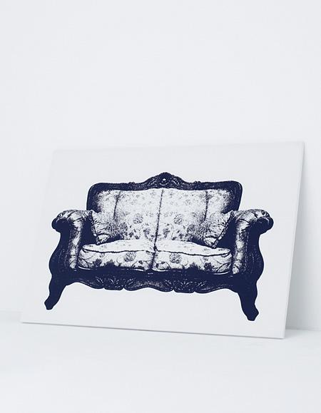 Painting Sofa
