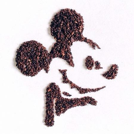 Ground Coffee Drawing