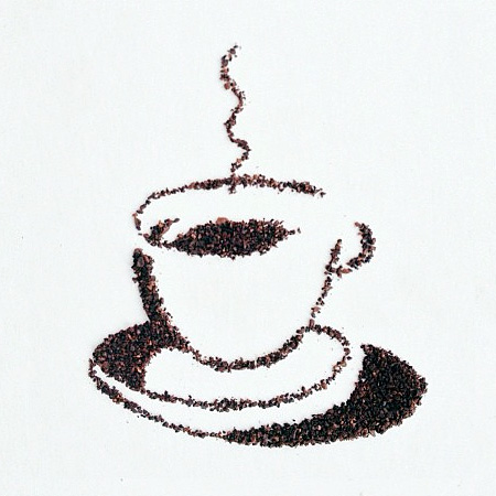 Grounded Coffee Art