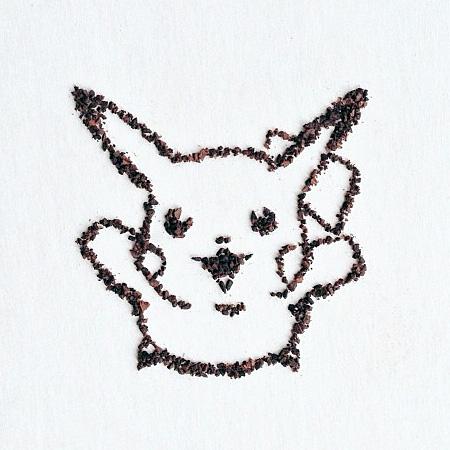 Liv Buranday Ground Coffee Art