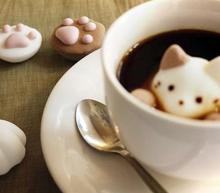 Cat Shaped Marshmallow