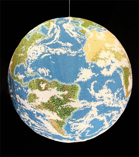 Matchstick Globe