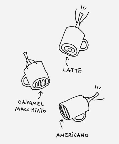 NENDO Starbucks Mug