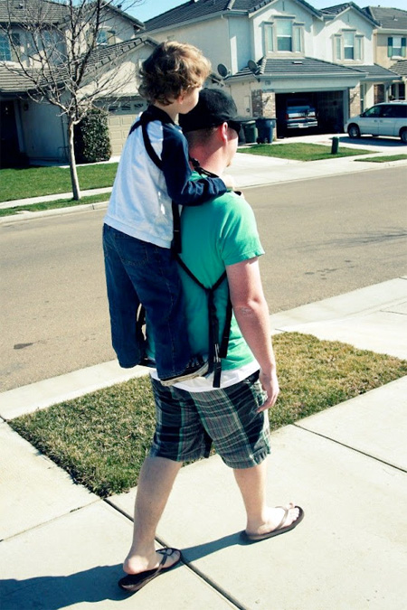 Piggyback Rider Child Carrier