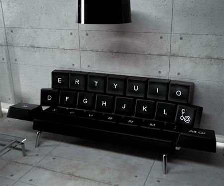 Computer Keyboard Sofa