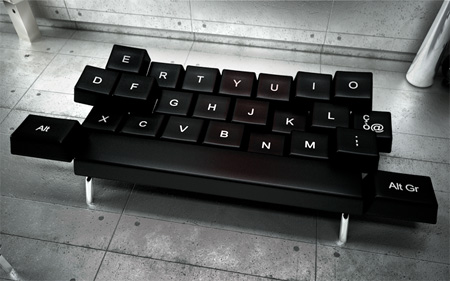 QWERTY Keyboard Sofa
