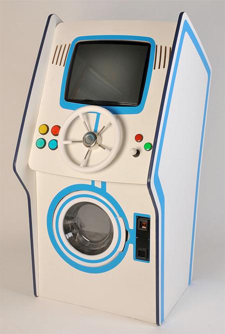 Video Arcade Washing Machine
