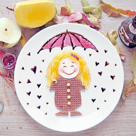 Food Artist Daryna Kossar
