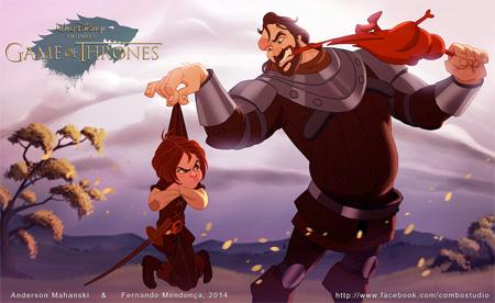 Disney Version of Game Of Thrones