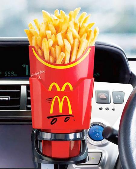 McDonalds French Fries Holder