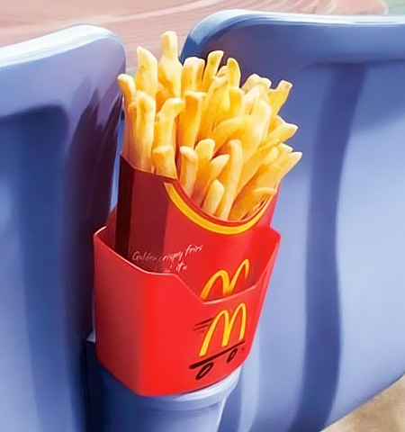 French Fries Holder