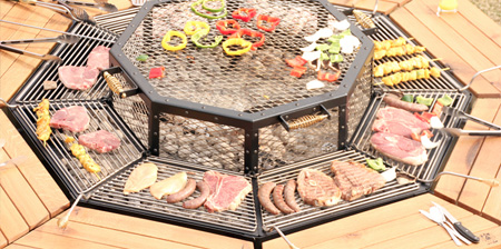 Barbecue Grill Table