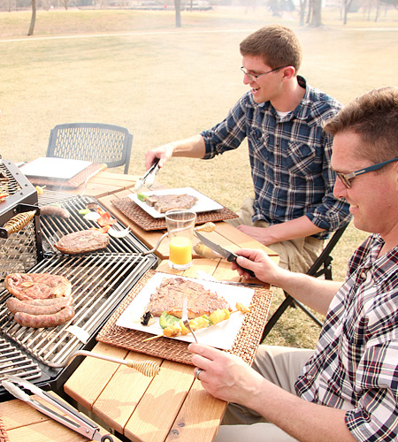 FirePit Grill Table