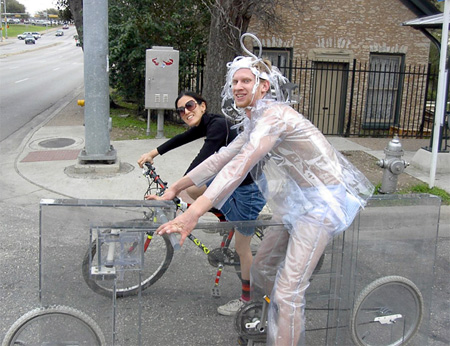 Glass Bicycle